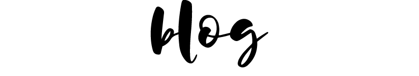 blog page header